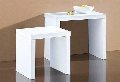 beistelltisch 2 stck online kaufen otto. Black Bedroom Furniture Sets. Home Design Ideas