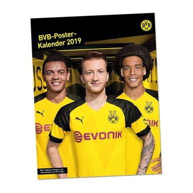 BVB-Poster- Kalender 2019