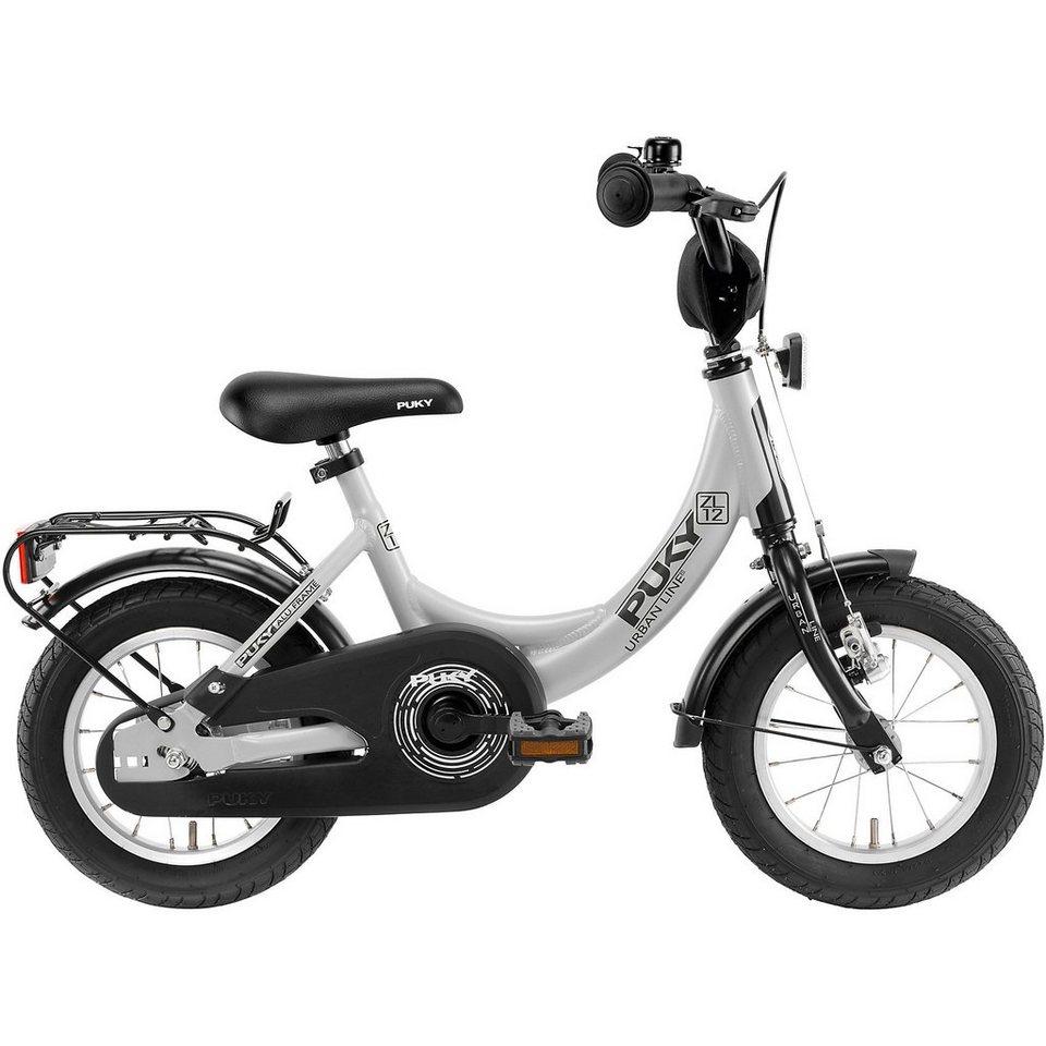 puky fahrrad zl 12 1 alu lichtgrau schwarz kaufen otto. Black Bedroom Furniture Sets. Home Design Ideas