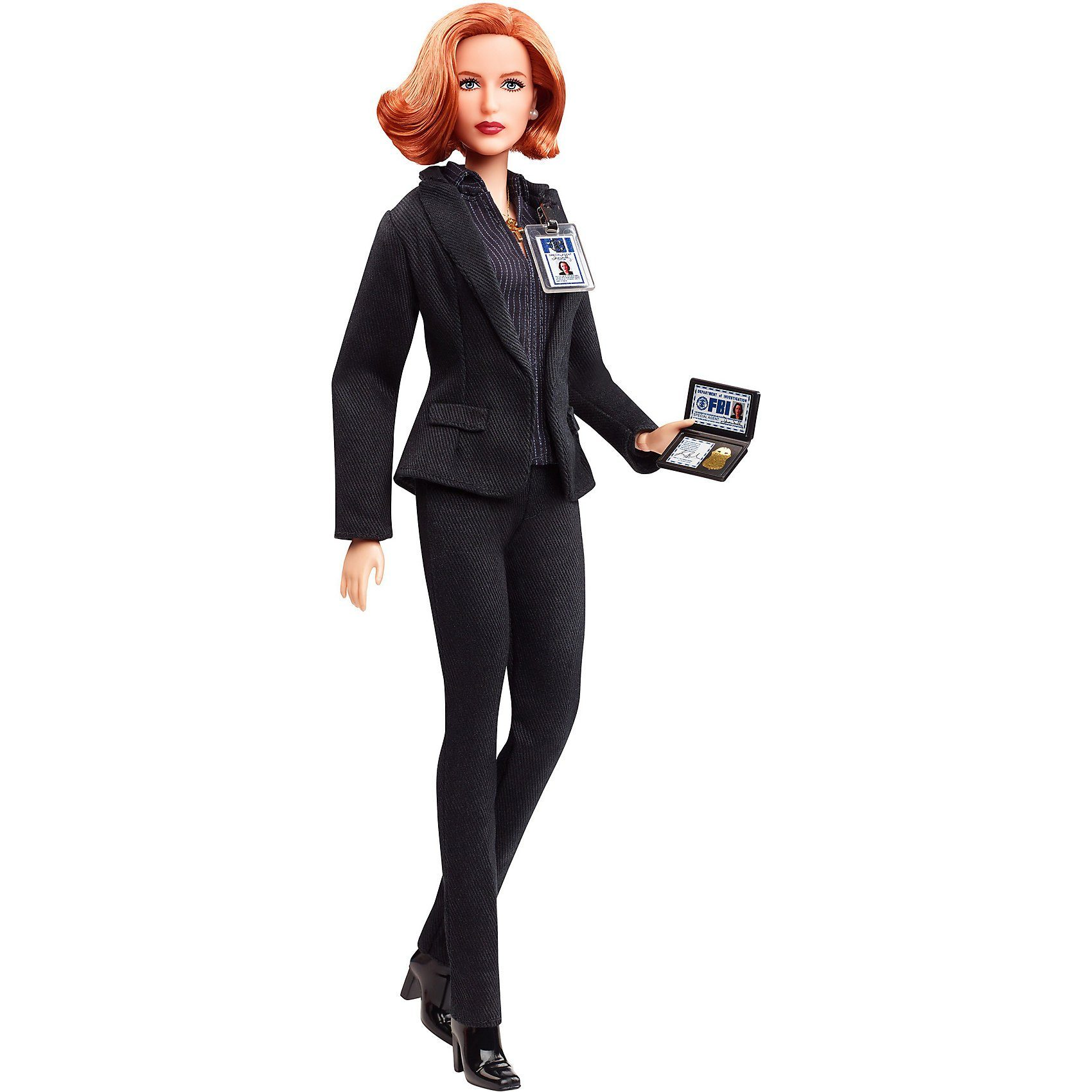 Mattel® Barbie Signature X Files Scully Barbie Puppe