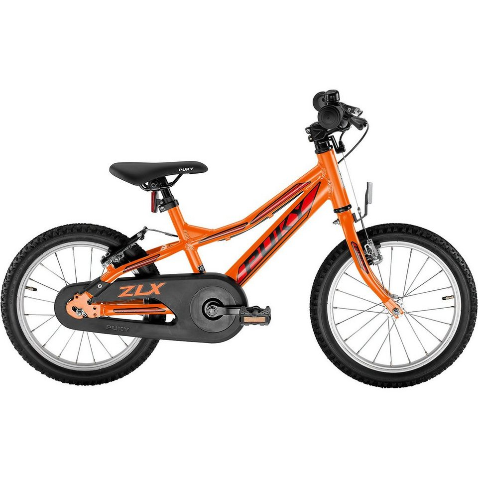 puky fahrrad zlx 16 1 alu racing orange kaufen otto. Black Bedroom Furniture Sets. Home Design Ideas