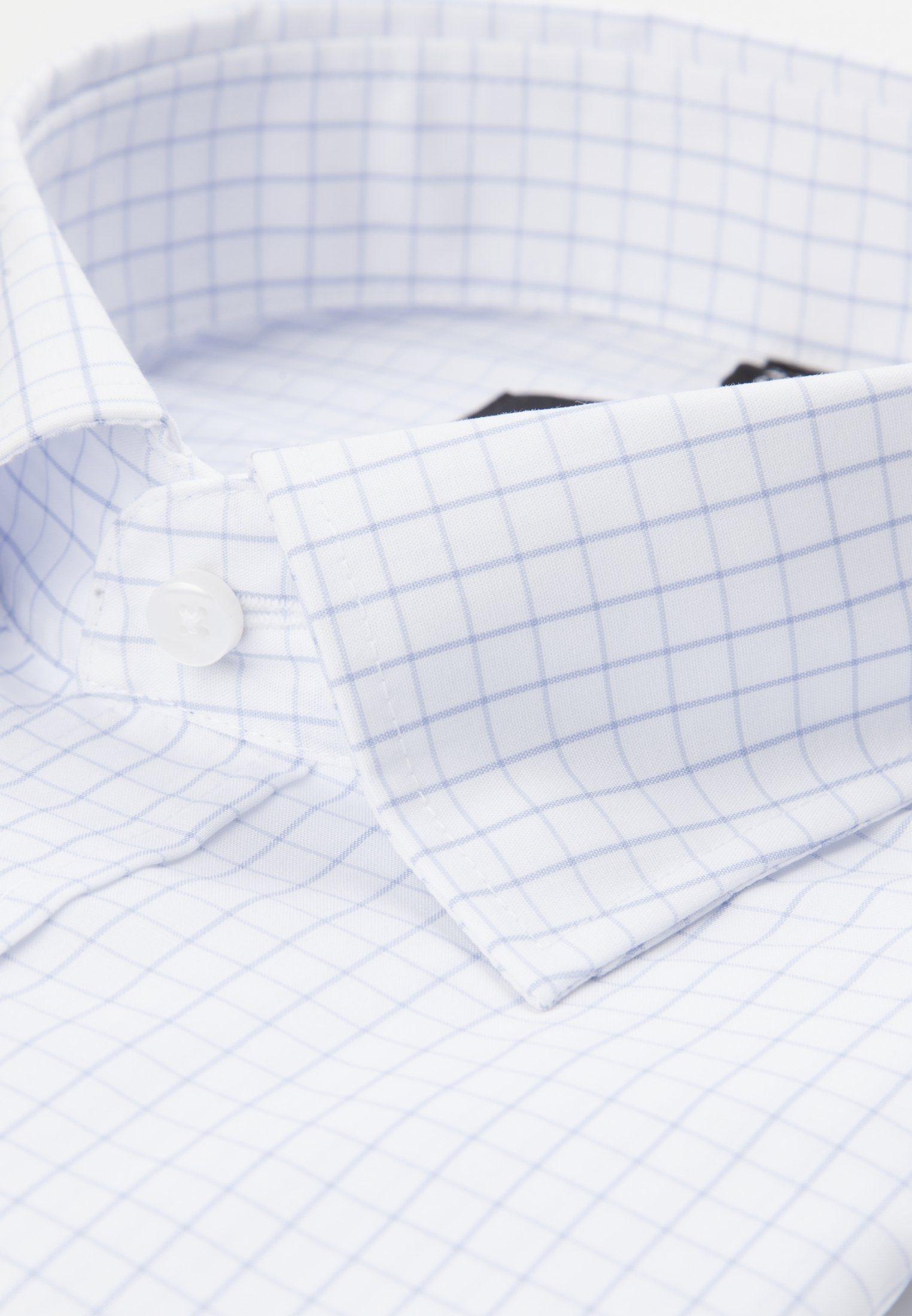 Slim down Businesshemd Seidensticker Karo Langarm button kragen Covered »slim« YWzW7nrU