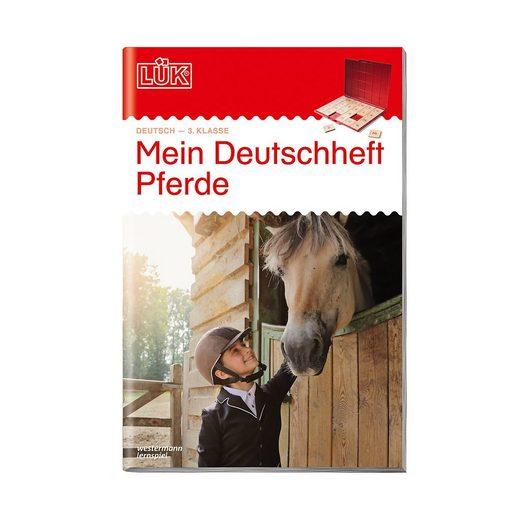 Westermann Verlag LÜK: Mein Deutschheft Pferde, 3. Klasse, Übungsheft