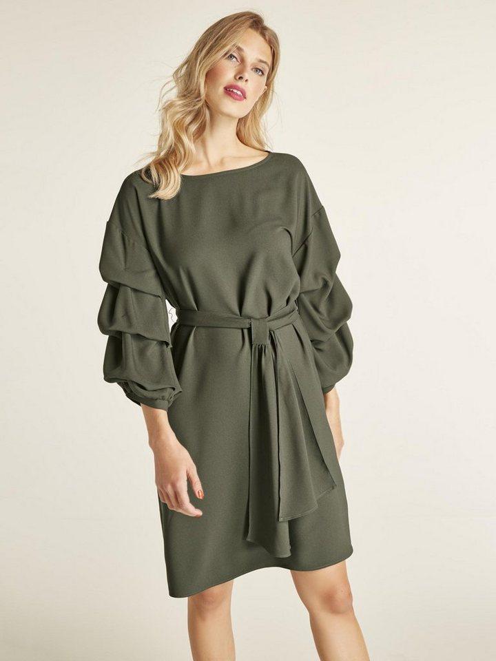 f892d7cdd56e75 heine STYLE Kleid mit Bindegürtel online kaufen | OTTO