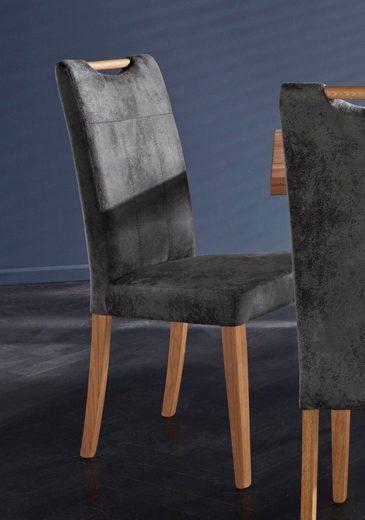 Stuhl »Roberta« Bezug aus strapazierfähiger Microfaser (2 Stück)