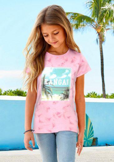 KangaROOS T-Shirt mit Fotodruck