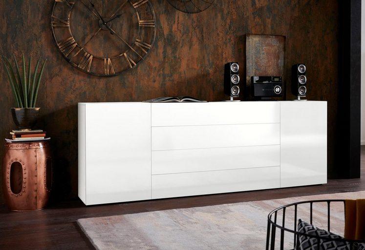 Borchardt Möbel Sideboard »MASSA«, Breite 200 cm