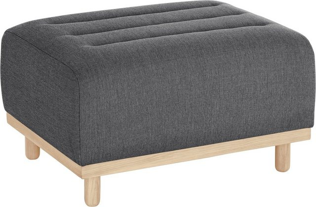 andas Hocker »Rump« | Wohnzimmer > Hocker & Poufs > Sitzhocker | Grau | Massivholz | andas