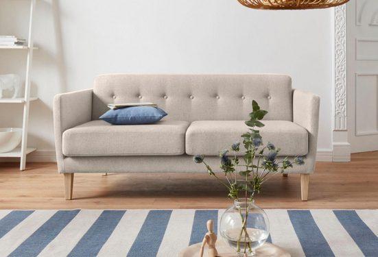 andas 2-Sitzer »Raadal«, in geradliniger skandinavischer Optik, Design by Morten Georgsen