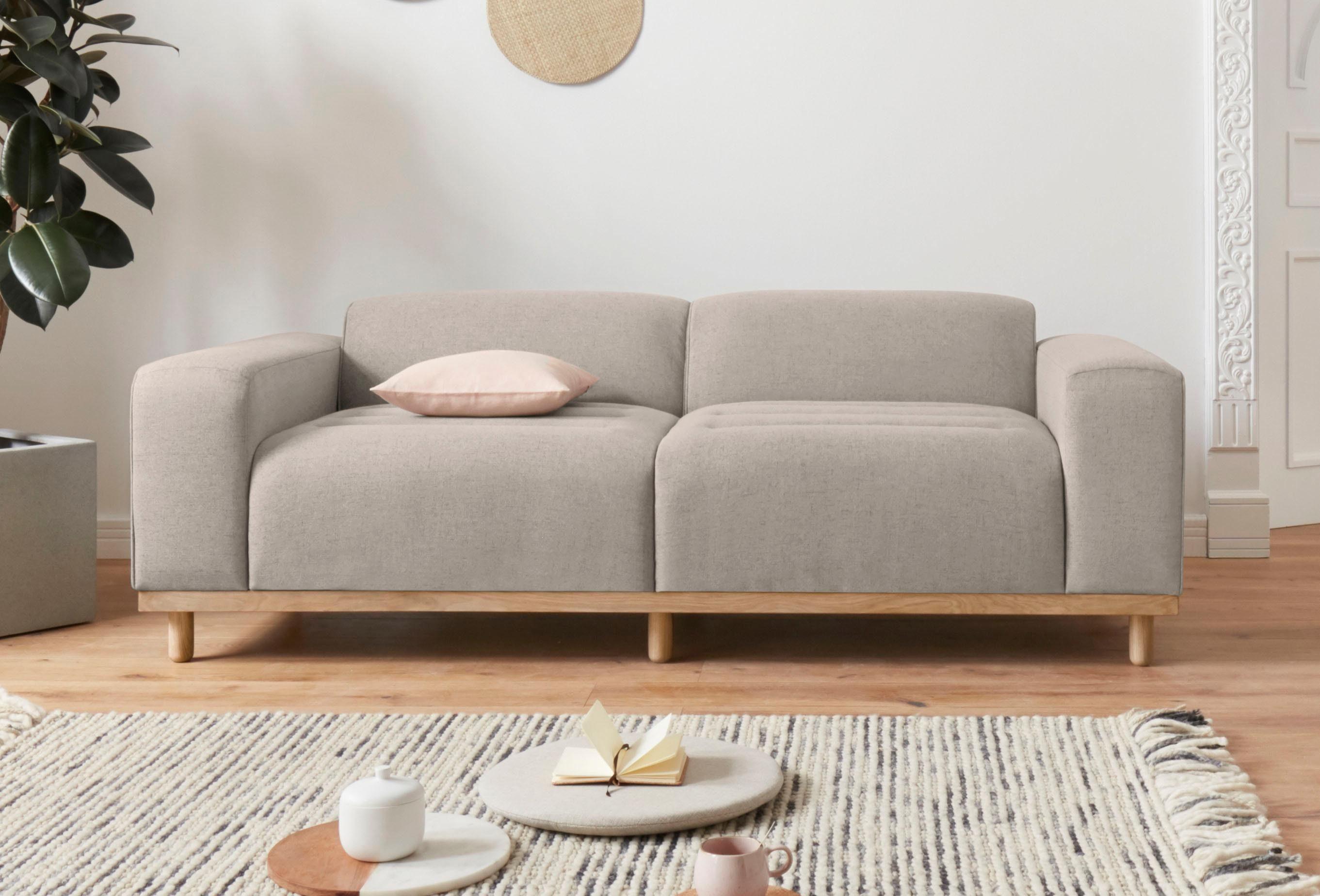 andas 2-Sitzer »Rump« in außergewöhnlichem Design mit 2 Zierkissen, Design by Morten Georgsen