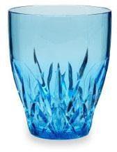Q Squared NYC Glas »Topaz«, Kunststoff, 3-teilig