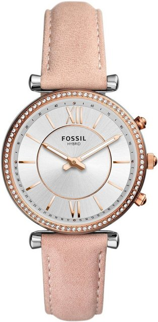 Smartwatches - Fossil Smartwatches CARLIE HYBRID SMARTWATCH, FTW5039 Smartwatch (Wear OS by Google)  - Onlineshop OTTO