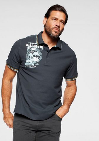 Man's World Polo marškinėliai su Print an der Schu...