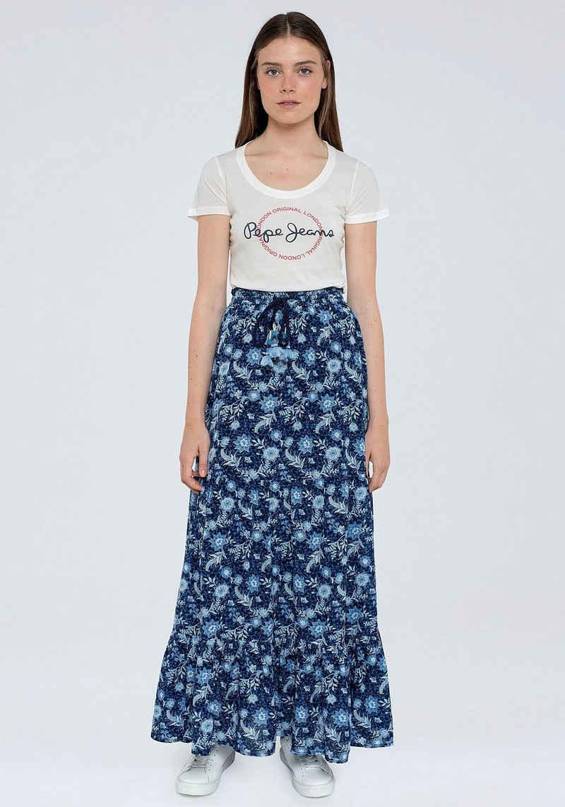 Pepe Jeans Sommerrock »MARGOT« im floralen Design