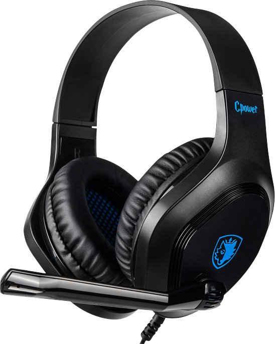Sades »Cpower SA-716« Gaming-Headset (Kompatibel mit PS4, PS5, Xbox One, Xbox Series X/S und Nintendo Switch, kabelgebunden)