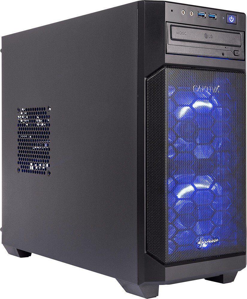 CAPTIVA G7I 18V3 Gaming-PC (Intel Core i5, 8 GB RAM, 1000 GB HDD, 240 GB SSD, Luftkühlung)