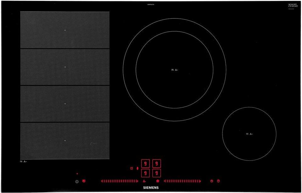 siemens induktions kochfeld von schott ceran ex875lec1e. Black Bedroom Furniture Sets. Home Design Ideas