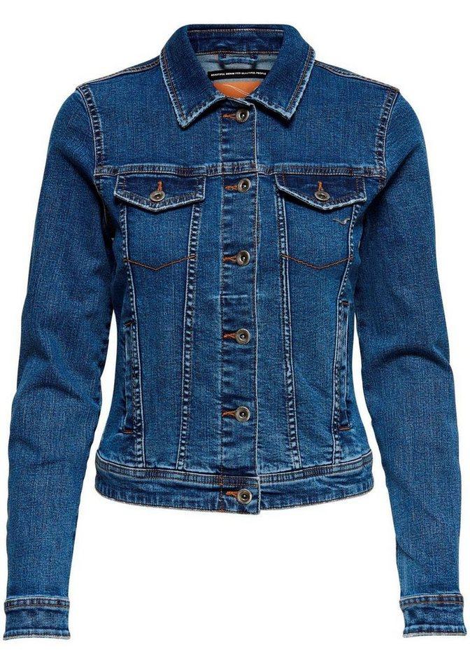on sale 8fdd1 a2c1c Only Jeansjacke »TIA« in leichter Used-Waschung mit Stretch online kaufen |  OTTO