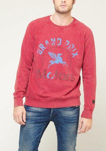 Le Temps Des Cerises Sweatshirt mit Frontprint