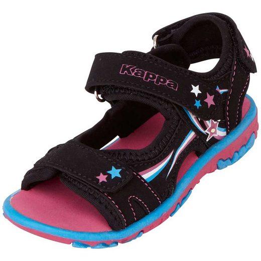 Kappa »ALIVET GIRLS II KIDS« Sandale mit cooler Blinkfunktion