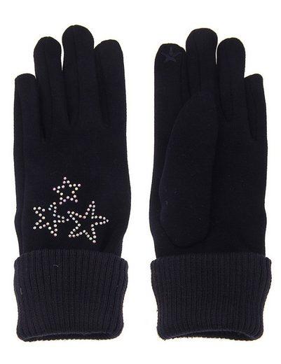 Leslii Handschuhe mit glitzernden Sternen