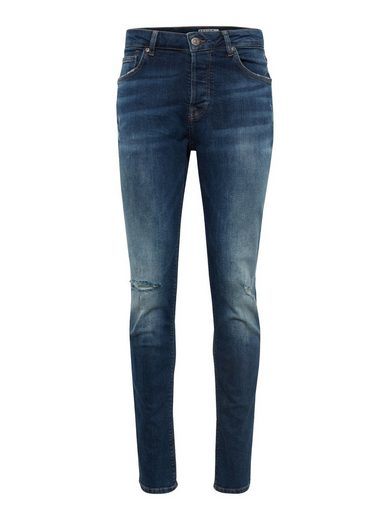 REVIEW Slim-fit-Jeans »SLIM DKBLUEWASH«