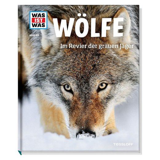 Tessloff Verlag WAS IST WAS Wölfe, Band 104