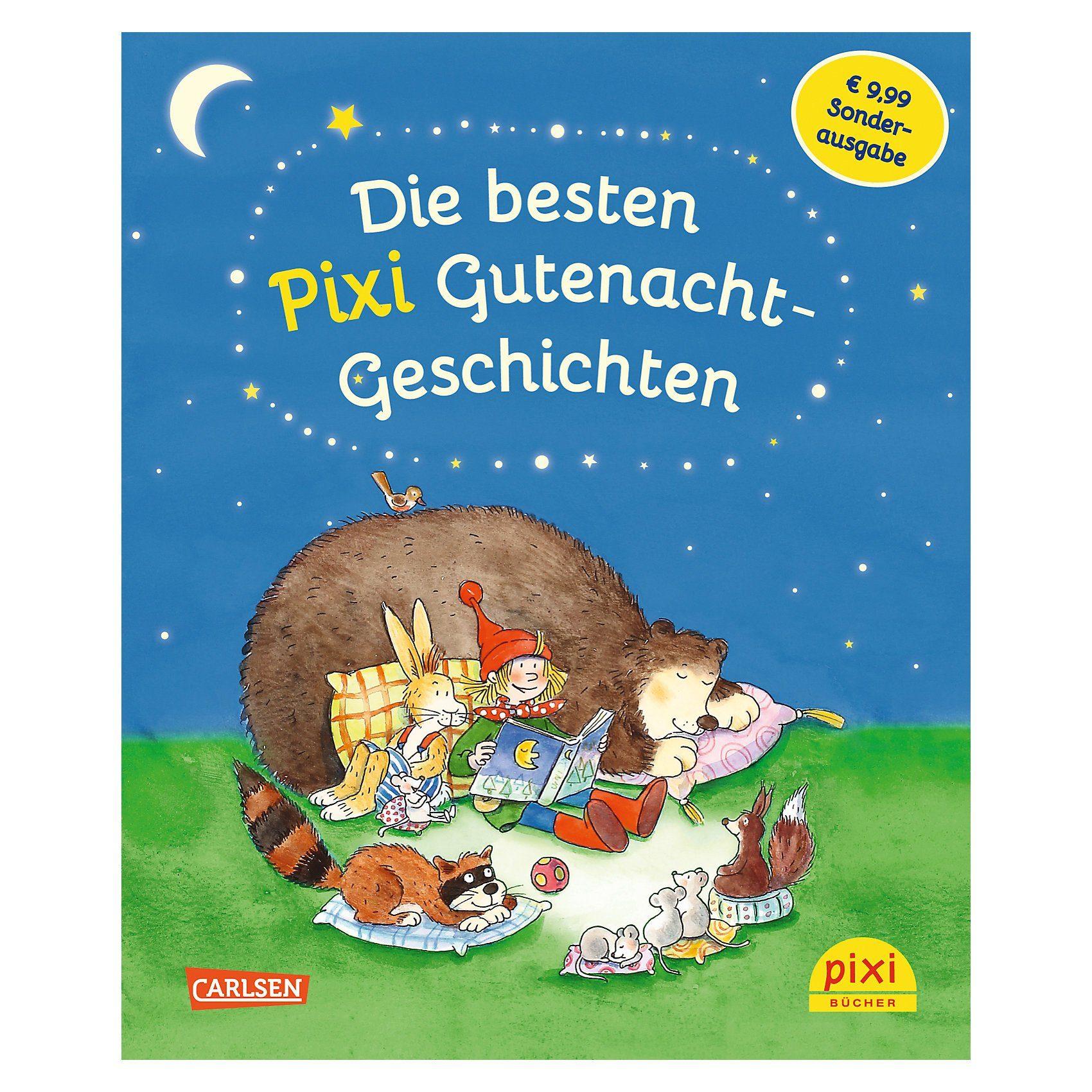 Carlsen Verlag Die besten Pixi Gutenacht-Geschichten