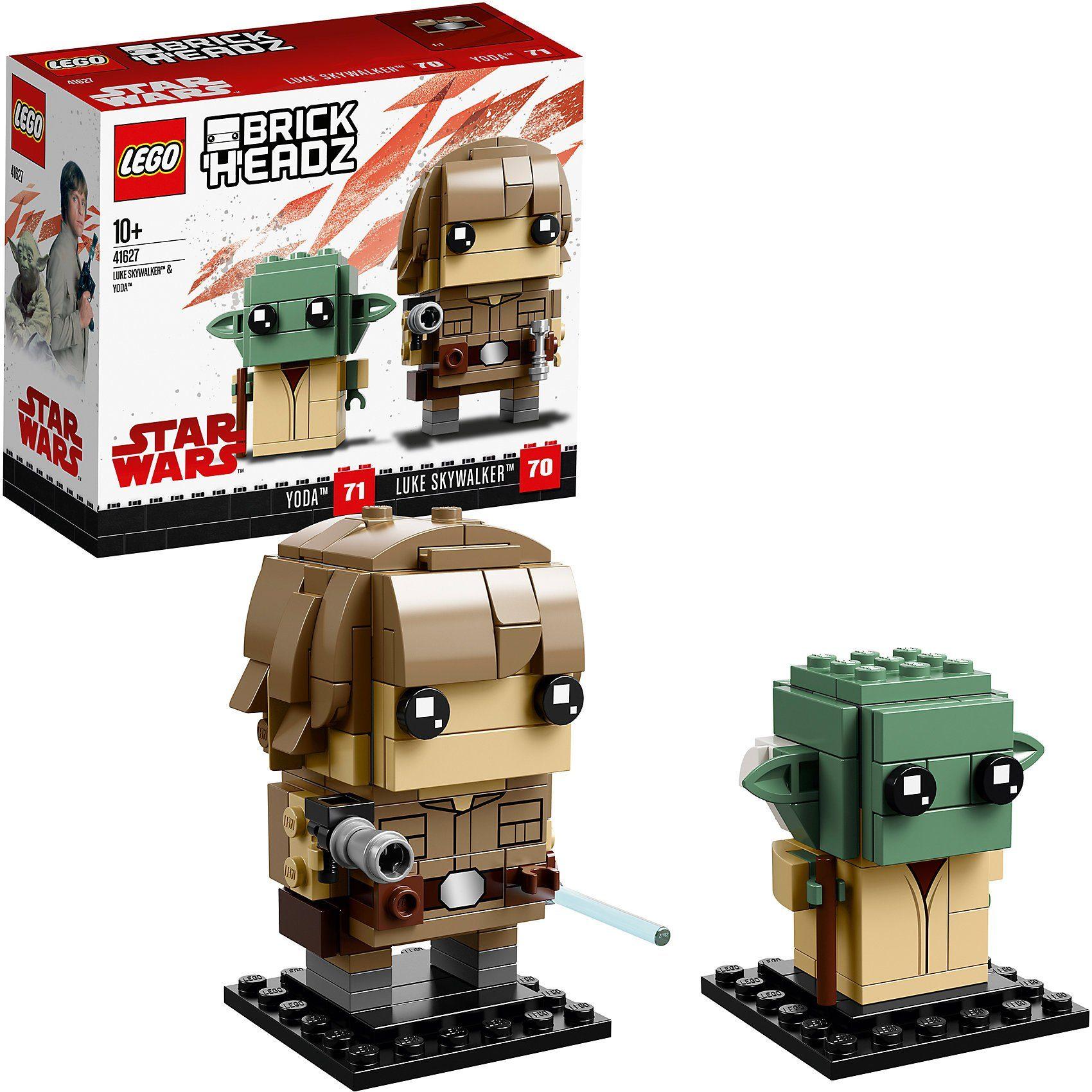 LEGO® 41627 BrickHeadz: Luke Skywalker™ und Yoda™