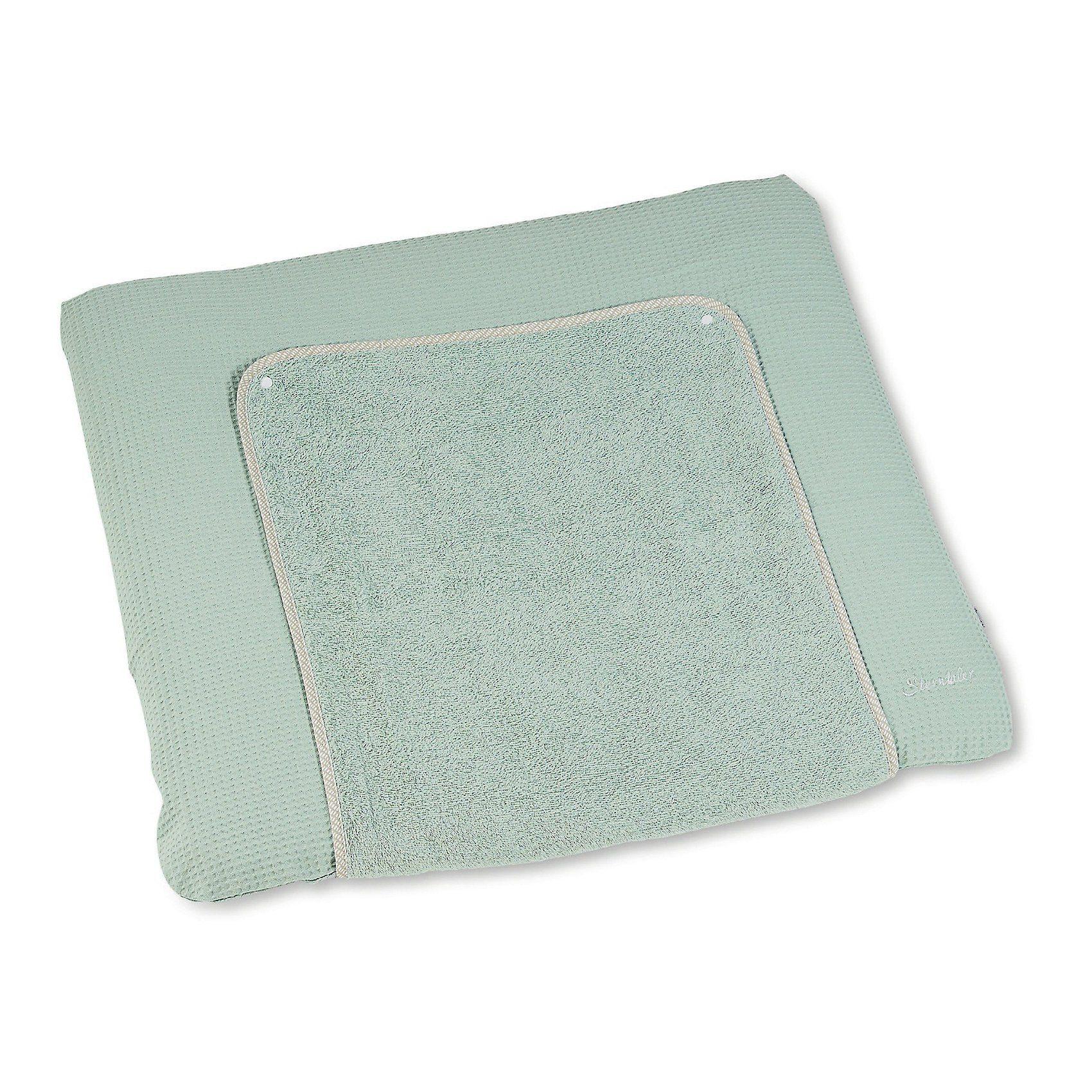 Sterntaler® Bezug für Wickelauflage Baylee, hellgrün, 90 x 80 cm