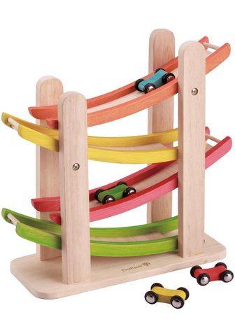 EVEREARTH Mašina - Mašinėlių trasa iš mediena ®