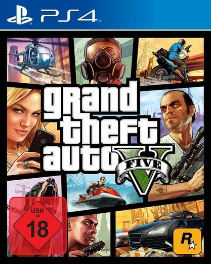 GTA V - Grand Theft Auto 5 PlayStation 4