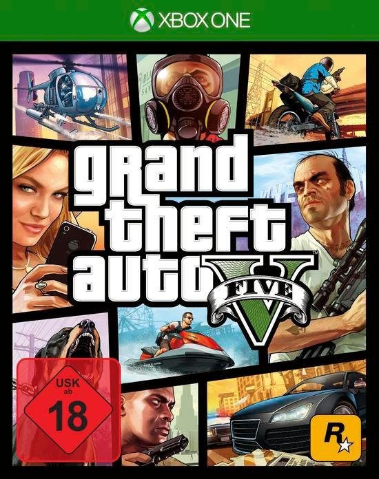 GTA V - Grand Theft Auto 5 Xbox One