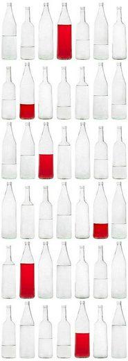 Fototapete »Glasflaschen«, FSC®