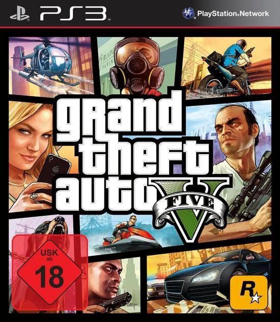GTA V - Grand Theft Auto 5 PlayStation 3