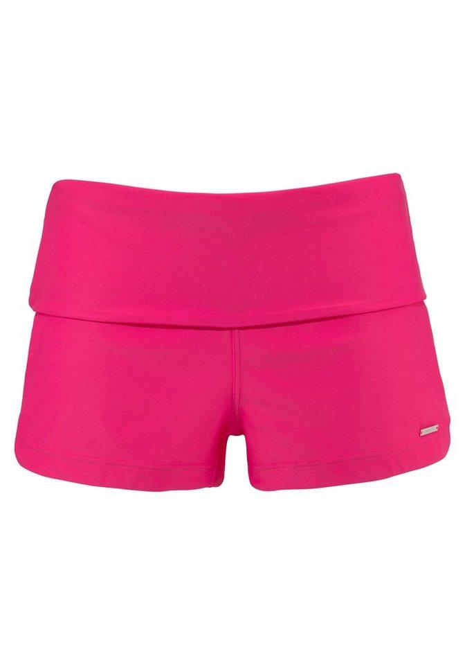 Bademode - Chiemsee Badeshorts, mit breitem Umschlagbund › rosa  - Onlineshop OTTO