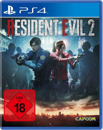 Resident Evil 2 PlayStation 4