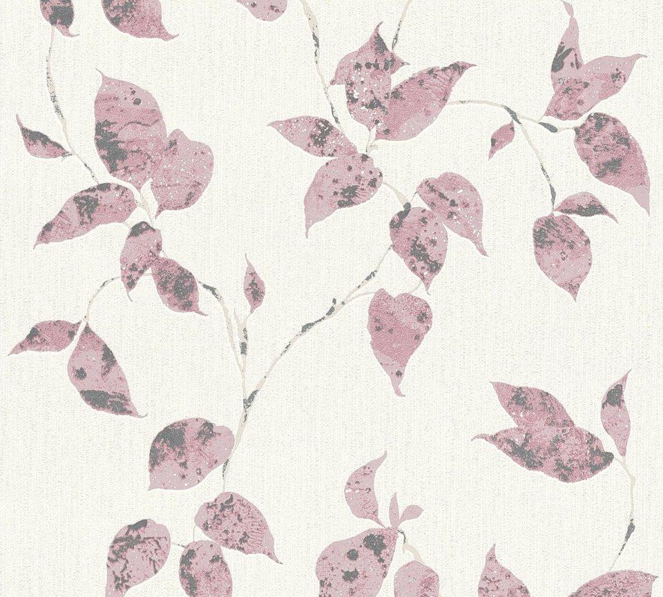 Vliestapete, living walls, »Flavour«, florale Tapete online kaufen ...