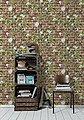 Papiertapete »Authentic Walls Backstein Optik«, gemustert, Motiv, realistisch, urban, geprägt, Bild 2