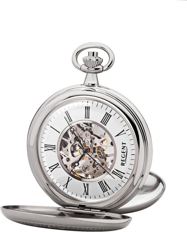 Regent Taschenuhr »P93« (Set, 2 tlg) inkl. Kette | Uhren > Taschenuhren | Regent