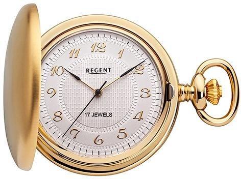 Regent Taschenuhr »P16« (Set, 2 tlg) inkl. Kette | Uhren > Taschenuhren | Goldfarben | Regent