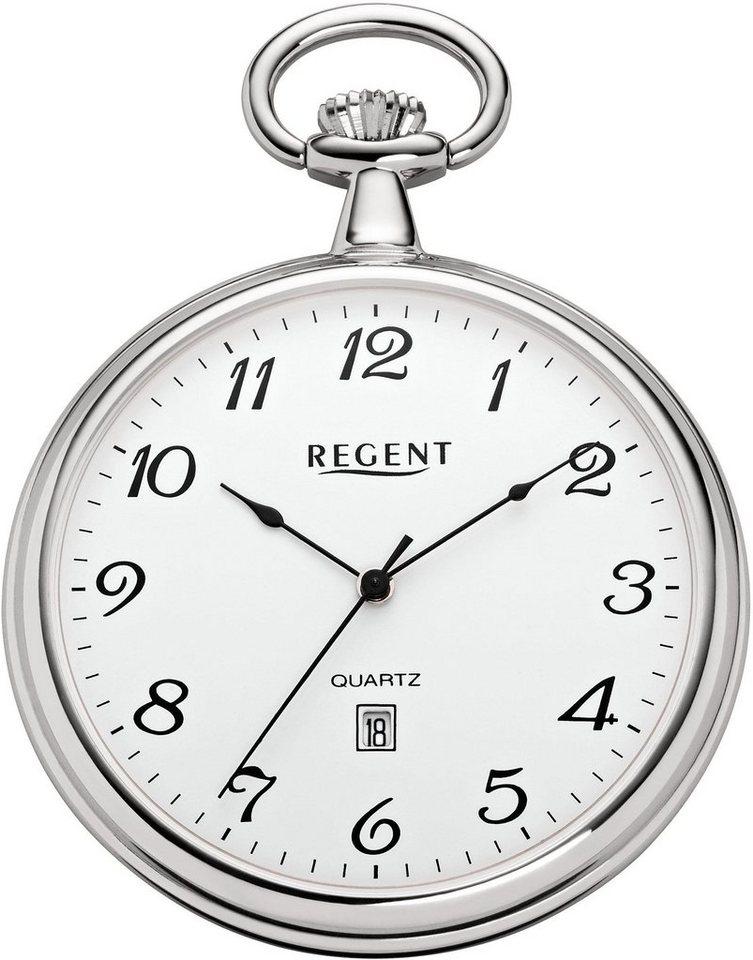 Regent Taschenuhr »P80« (Set, 2 tlg) inkl. Kette | Uhren > Taschenuhren | Regent