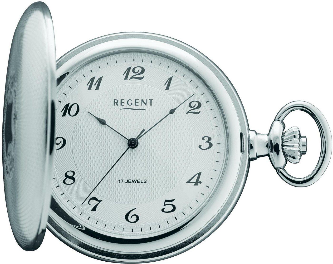 Regent Taschenuhr »P10« (Set, 2 tlg) inkl. Kette | Uhren > Taschenuhren | Regent