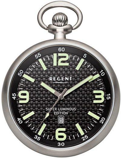 Regent Taschenuhr »P331«, (Set, 2-tlg), inkl. Kette