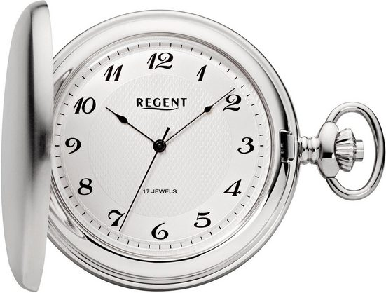 Regent Taschenuhr »P22«, (Set, 2-tlg), inkl. Kette