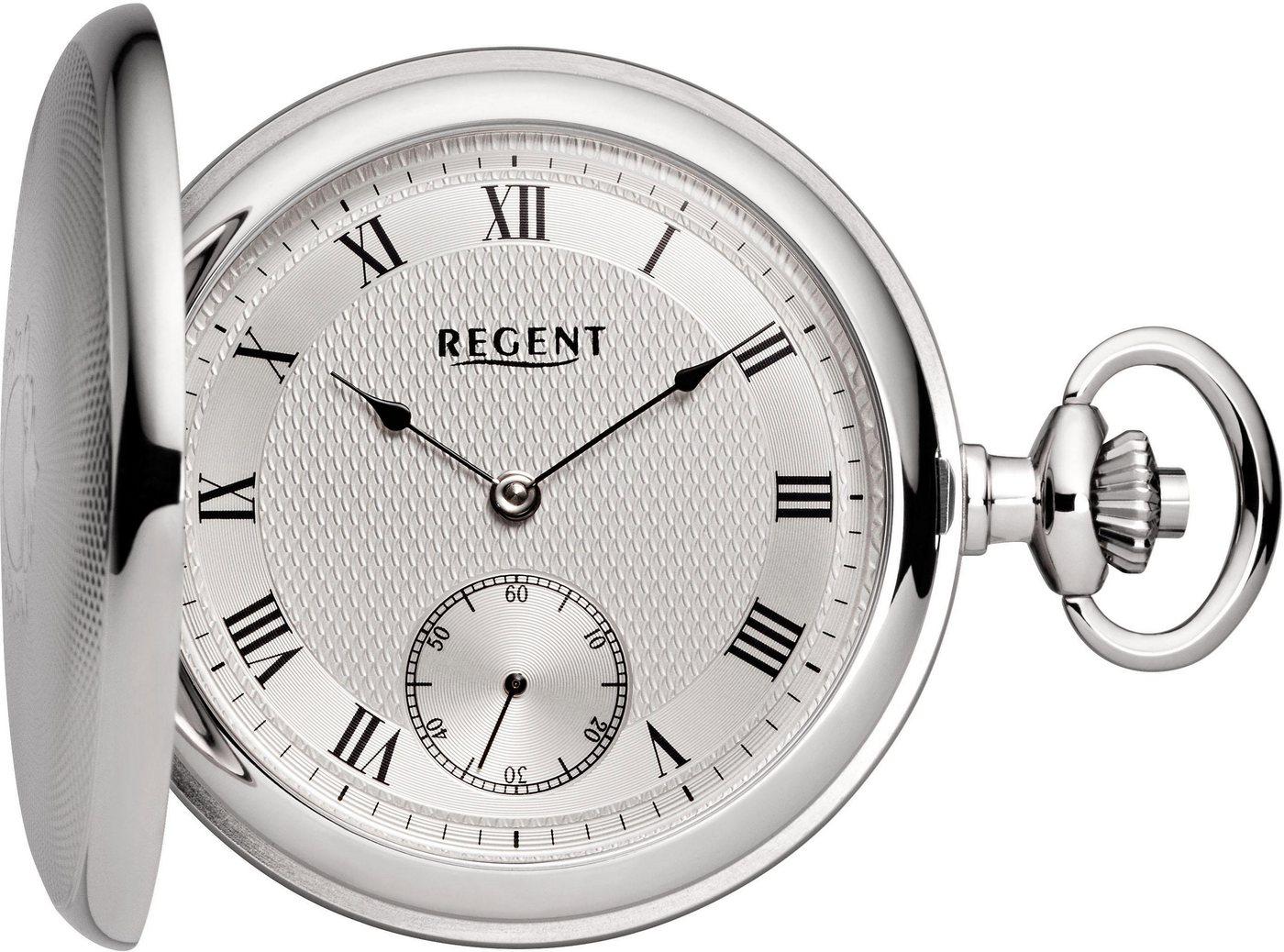 Regent Taschenuhr »P130« (Set, 2 tlg) inkl. Kette | Uhren > Taschenuhren | Regent