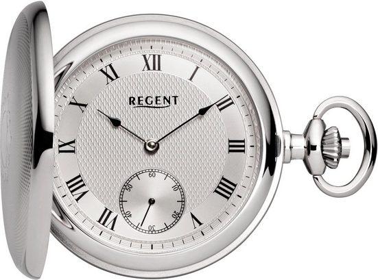 Regent Taschenuhr »P130«, (Set, 2-tlg), inkl. Kette