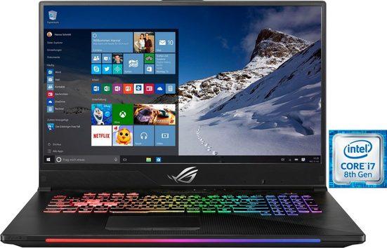 Asus ROG GL704GV-EV052T Gaming-Notebook (43,94 cm/17,3 Zoll, Intel Core i7, 1000 GB HDD, 256 GB SSD)