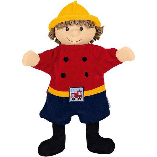 Sterntaler® Handpuppe »Sterntaler 3601643 Handpuppe Feuerwehrmann«