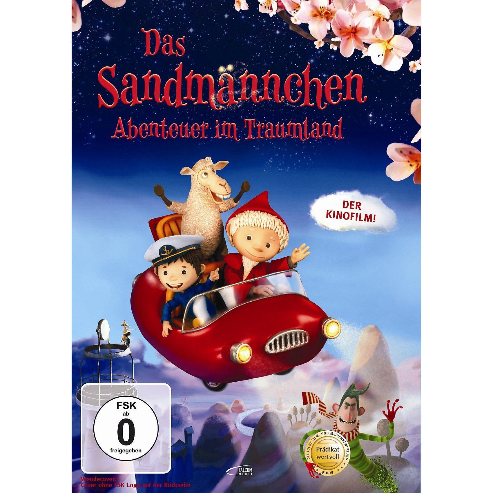DVD Das Sandmännchen - Abenteuer im Traumland